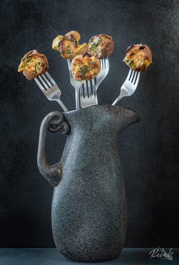 smashed and roasted potatoes recipe