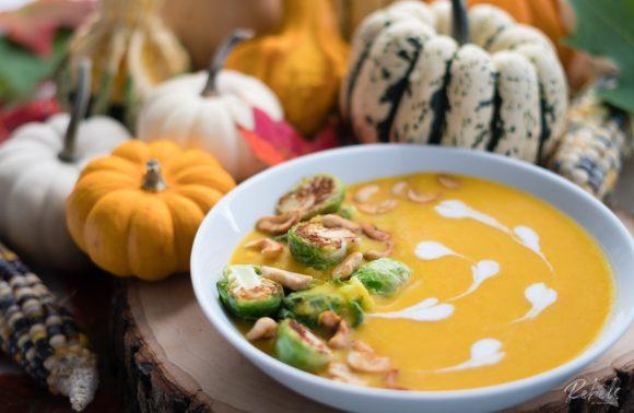 Slurps up! Curry Pumpkin Soup