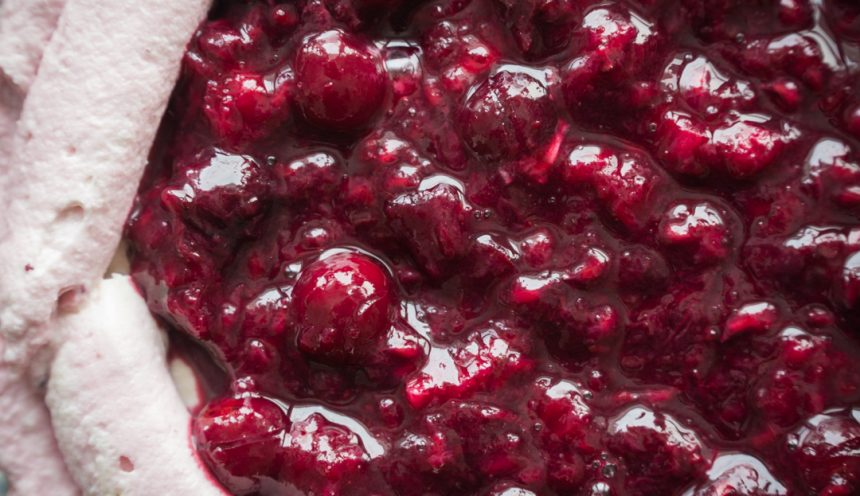 Red Berry Sangria Compote