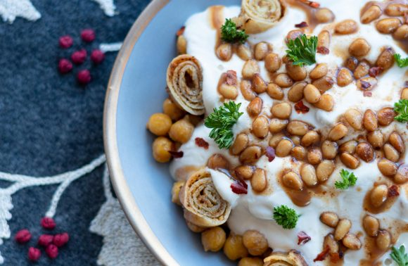 Chickpea Fatteh