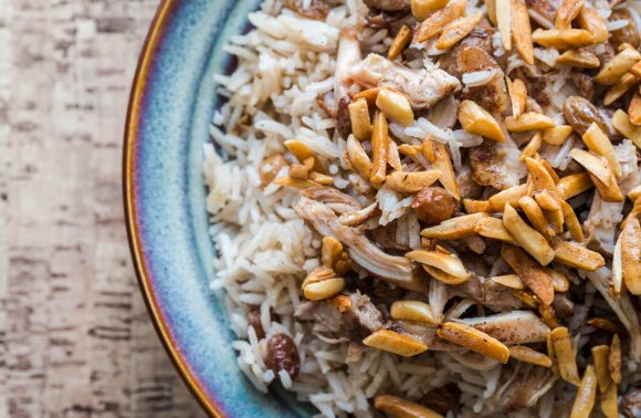 Lebanese Spiced Chicken and Rice