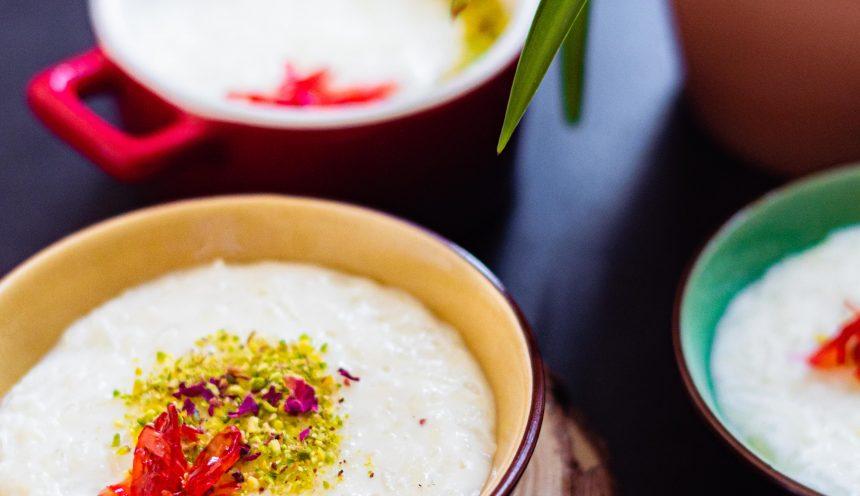 Fragrant Lebanese Rice Pudding