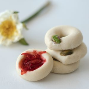 Ghraybeh: Middle Eastern Butter Cookie